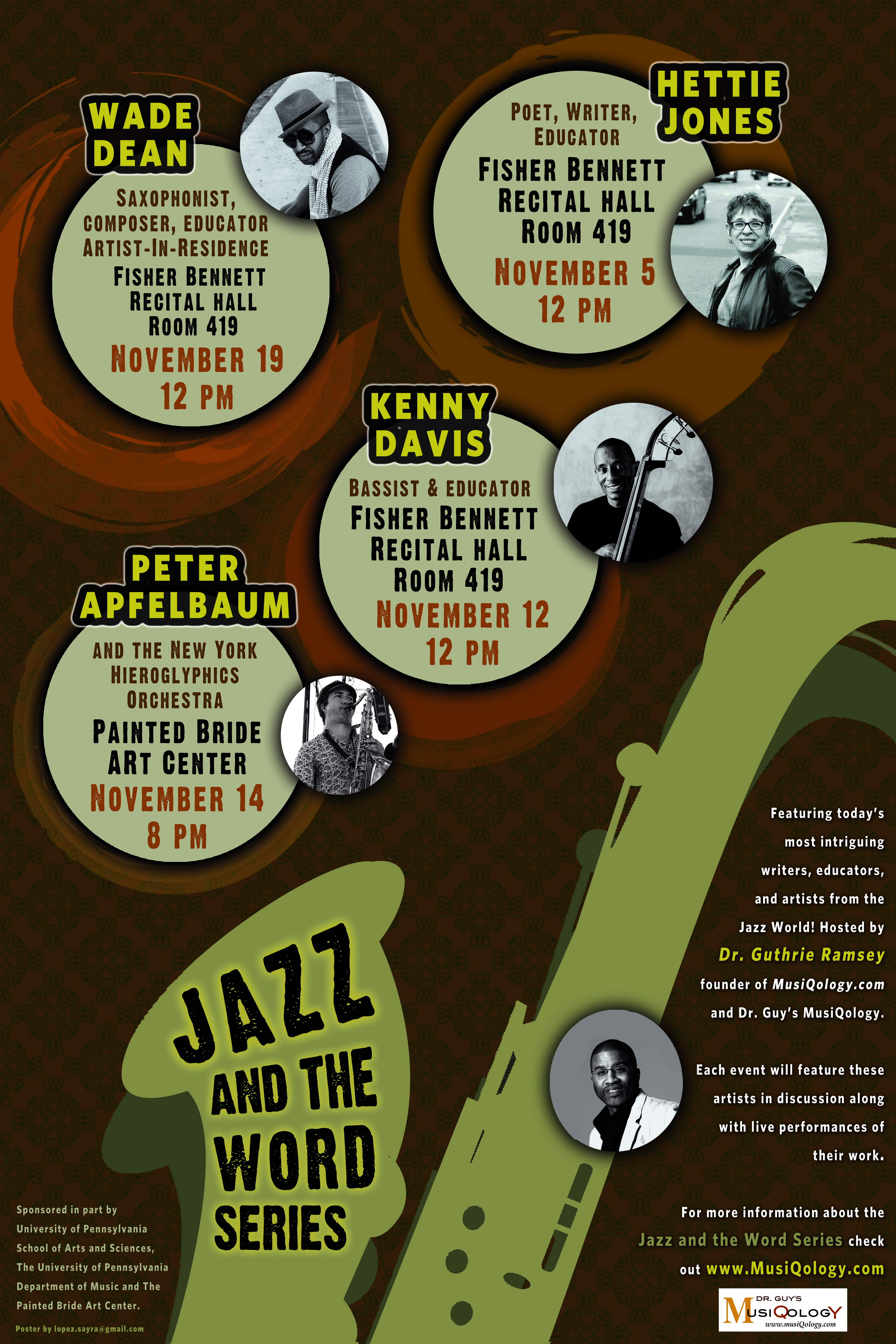 Jazz & the Word Series