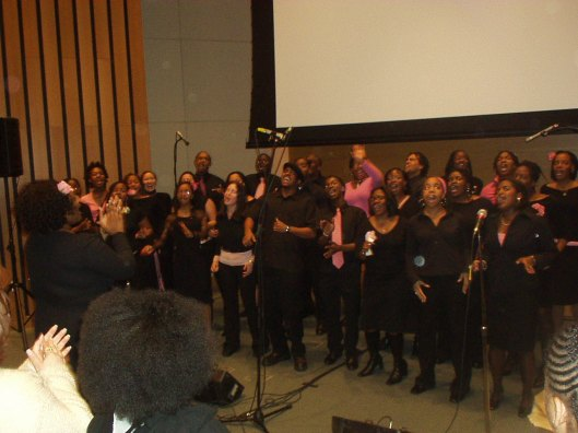 New Spirit of Penn Gospel Choir