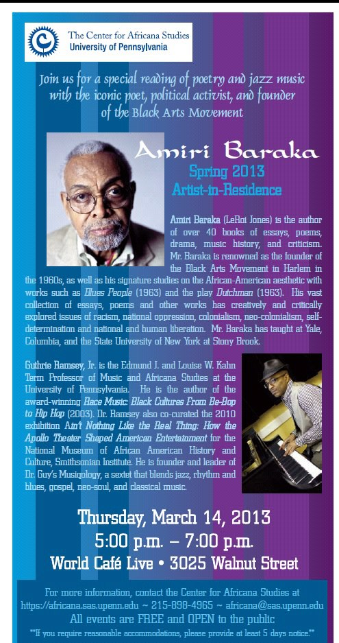 amiri baraka guthrie ramsey world cafe